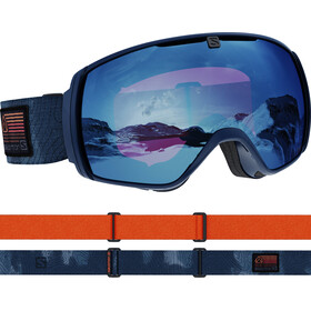 Salomon XT One Sigma Goggles estate blue/sky blue